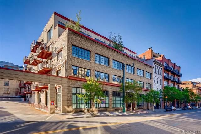 1435 Wazee Street #409, Denver, CO 80202 (#4749118) :: Bring Home Denver with Keller Williams Downtown Realty LLC