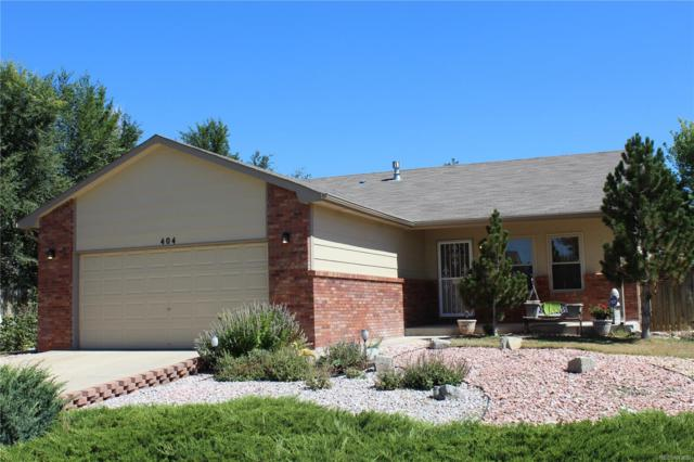 404 Suzann Street, Wiggins, CO 80654 (#4750435) :: Bring Home Denver