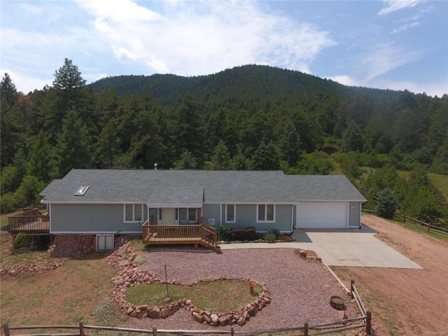 12637 S Perry Park Road, Larkspur, CO 80118 (#4750518) :: The Tamborra Team