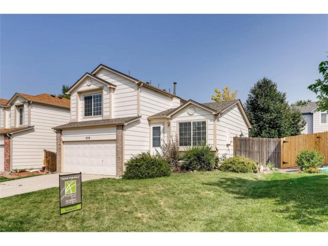 278 Benton Street, Castle Rock, CO 80104 (MLS #4750813) :: 8z Real Estate