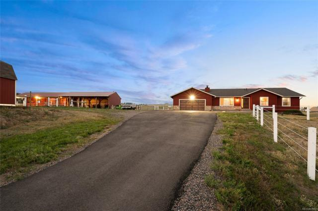 45828 Cottonwood Hills Drive, Parker, CO 80138 (#4755146) :: The Griffith Home Team
