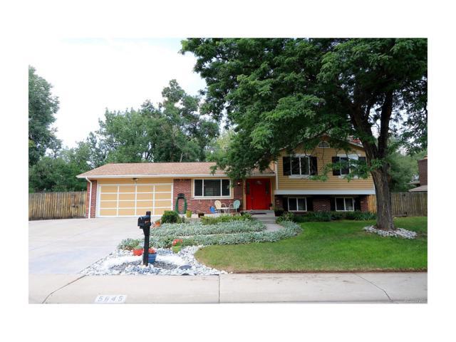 5645 W Leawood Drive, Littleton, CO 80123 (MLS #4758170) :: 8z Real Estate