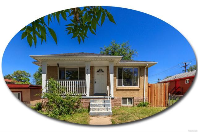 1618 Beeler Street, Aurora, CO 80010 (#4758877) :: The Griffith Home Team