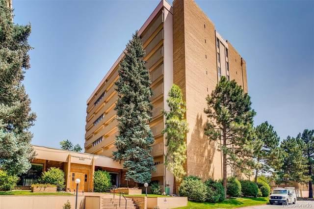 8060 E Girard Avenue #816, Denver, CO 80231 (#4760141) :: The Griffith Home Team