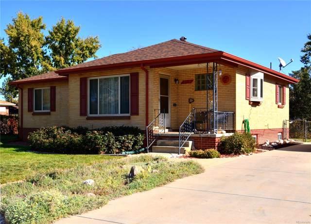 2162 S Xavier Street, Denver, CO 80219 (MLS #4760459) :: Kittle Real Estate