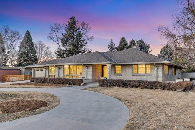 3165 E Floyd Drive, Denver, CO 80210 (#4760652) :: The HomeSmiths Team - Keller Williams