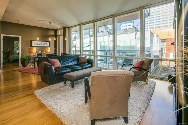 1401 Delgany Street #309, Denver, CO 80202 (#4761510) :: The DeGrood Team