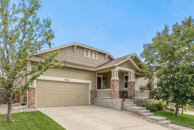 4418 Prairie Rose Circle, Castle Rock, CO 80109 (MLS #4774194) :: 8z Real Estate