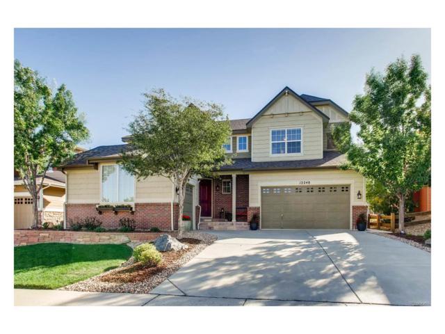 12248 Desert Hills Street, Parker, CO 80138 (#4777433) :: The Griffith Home Team