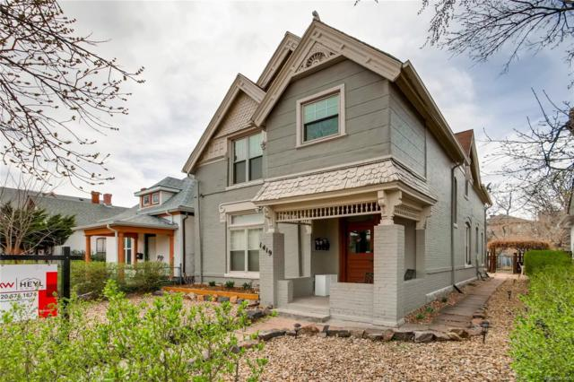 1419 Lipan Street #4, Denver, CO 80204 (#4778038) :: The Heyl Group at Keller Williams