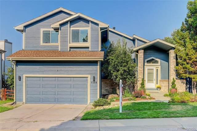 1509 Pinyon Drive, Castle Rock, CO 80104 (#4779815) :: Symbio Denver