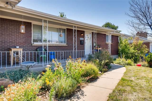 8102 Kalamath Street, Denver, CO 80221 (#4780229) :: Compass Colorado Realty