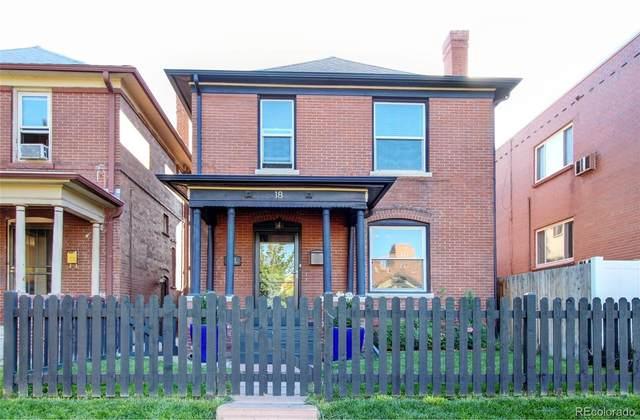 18 N Sherman Street, Denver, CO 80203 (#4781465) :: HomeSmart