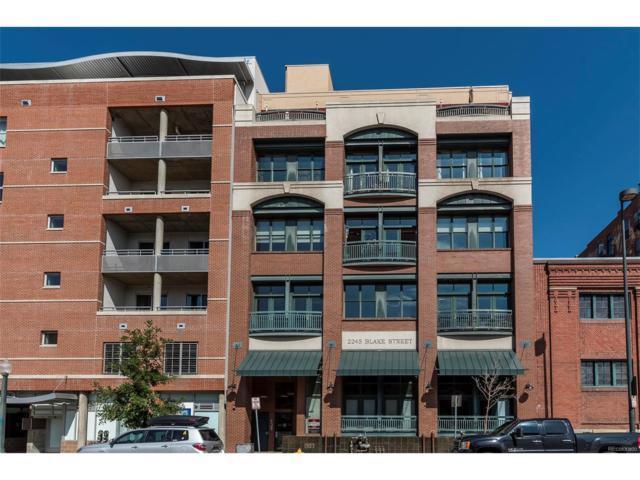 2245 Blake Street H, Denver, CO 80205 (MLS #4784230) :: 8z Real Estate