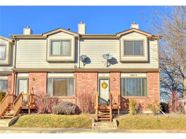 10653 W 63rd Drive #106, Arvada, CO 80004 (#4784585) :: The Dixon Group