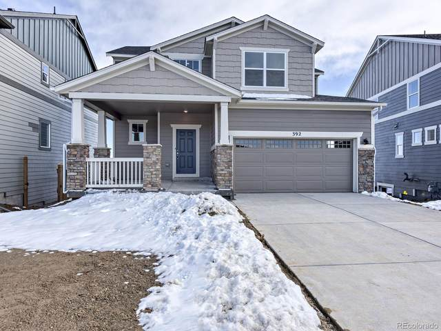 392 Hyde Park Circle, Castle Pines, CO 80108 (#4785032) :: The HomeSmiths Team - Keller Williams