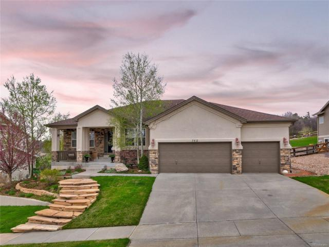 752 Coyote Willow Drive, Colorado Springs, CO 80921 (MLS #4787512) :: 8z Real Estate