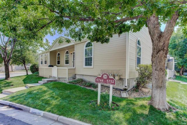 5752 W Asbury Place, Lakewood, CO 80227 (MLS #4793666) :: 8z Real Estate
