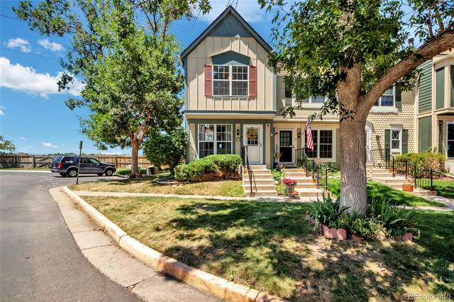 1699 S Trenton Street, Denver, CO 80231 (#4793890) :: The Griffith Home Team