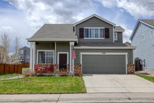 4996 Stoneham Avenue, Castle Rock, CO 80104 (MLS #4794179) :: Stephanie Kolesar