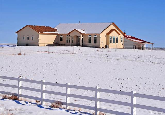 18311 Good Life View, Calhan, CO 80808 (#4798406) :: Stephanie Fryncko | Keller Williams Integrity