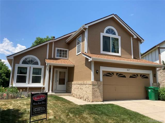 447 W Jamison Place W, Littleton, CO 80120 (#4799311) :: The Griffith Home Team