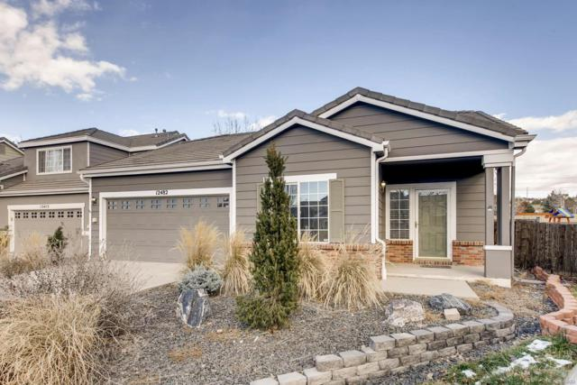 12482 S Bellisario Creek Court, Parker, CO 80134 (#4800234) :: The Heyl Group at Keller Williams