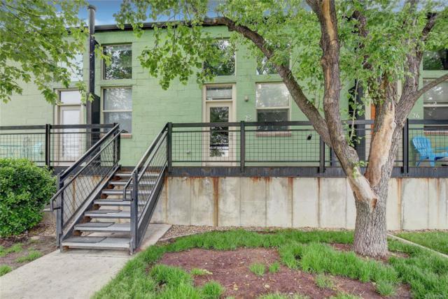 1111 Osage Street #25, Denver, CO 80204 (#4800682) :: The Heyl Group at Keller Williams
