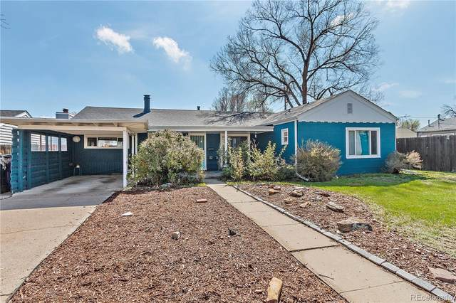3060 S Forest Street, Denver, CO 80222 (#4802403) :: Kimberly Austin Properties
