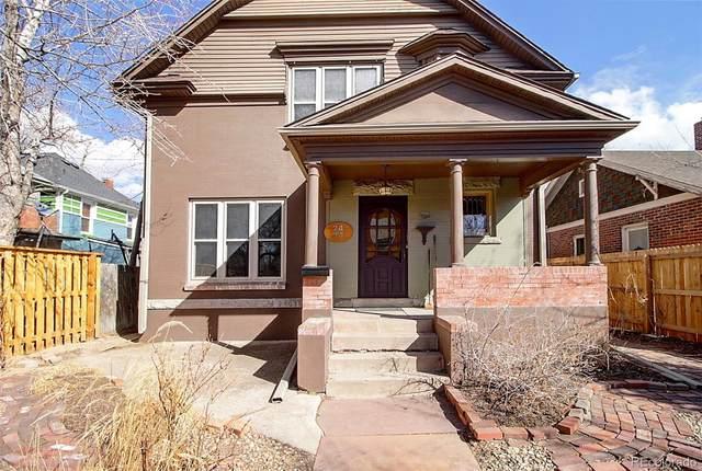 2444 N Franklin Street, Denver, CO 80205 (#4802499) :: The Griffith Home Team
