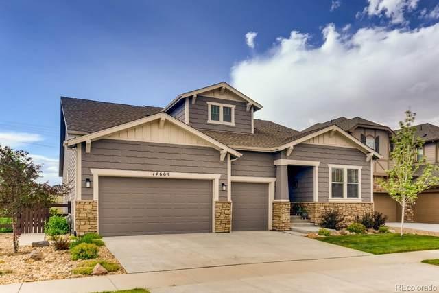 14669 Haley Avenue, Parker, CO 80134 (#4803375) :: Kimberly Austin Properties
