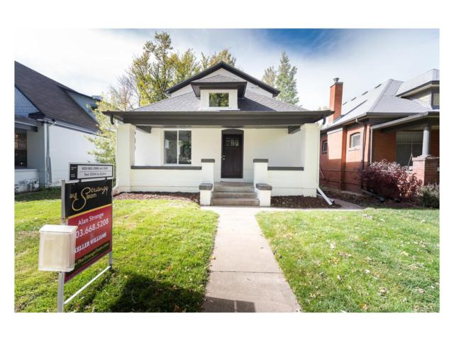 507 S Emerson Street, Denver, CO 80209 (#4812095) :: Wisdom Real Estate