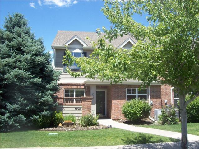 7703 E Maple Place, Denver, CO 80230 (#4816090) :: The Galo Garrido Group