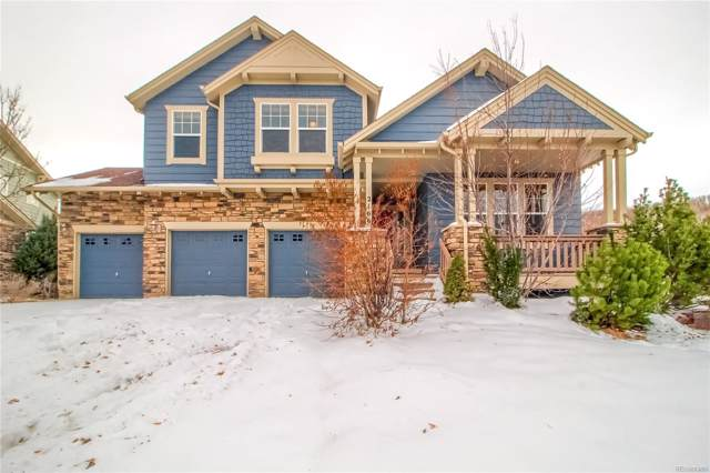 2166 Ridgetrail Drive, Castle Rock, CO 80104 (#4816698) :: The HomeSmiths Team - Keller Williams