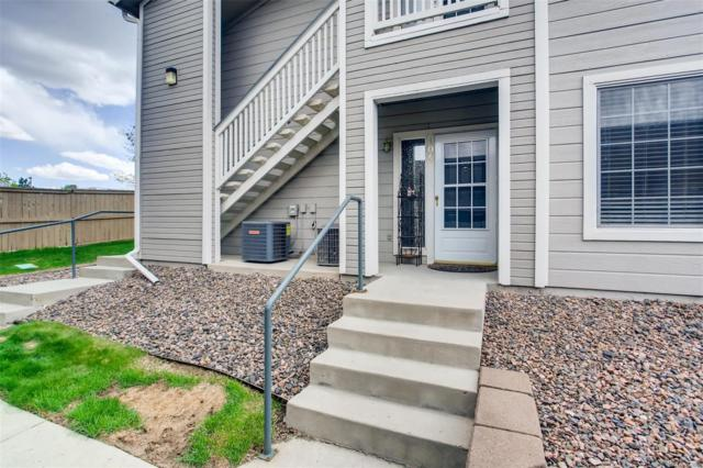 8309 Pebble Creek Way #104, Highlands Ranch, CO 80126 (#4817096) :: James Crocker Team