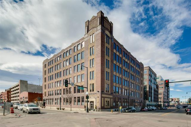 1863 Wazee Street 1G, Denver, CO 80202 (#4824229) :: 5281 Exclusive Homes Realty