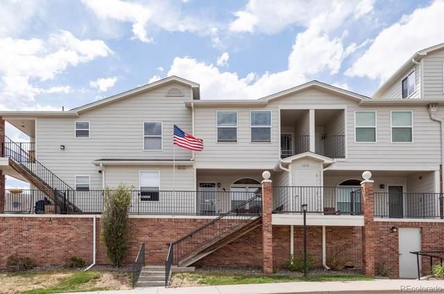 1670 S Deframe Street B6, Lakewood, CO 80228 (#4824409) :: Kimberly Austin Properties