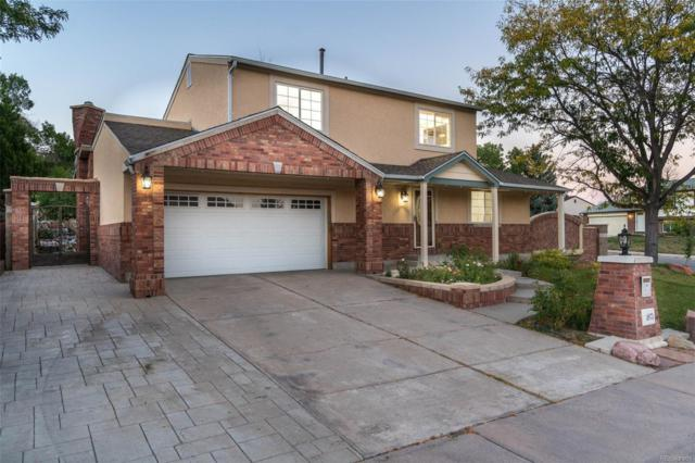 4973 S Garland Street, Littleton, CO 80123 (#4825549) :: The Galo Garrido Group