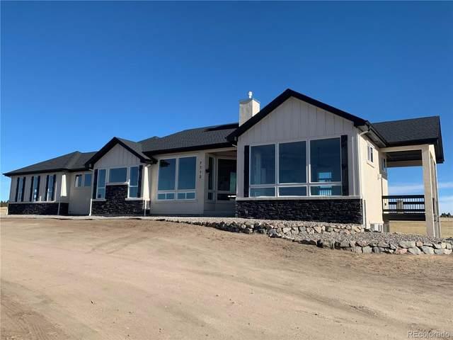 7712 Bannockburn Trail, Colorado Springs, CO 80908 (#4829535) :: The Harling Team @ Homesmart Realty Group