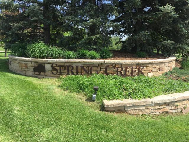1590 Spring Creek Drive, Lafayette, CO 80026 (#4832617) :: House Hunters Colorado