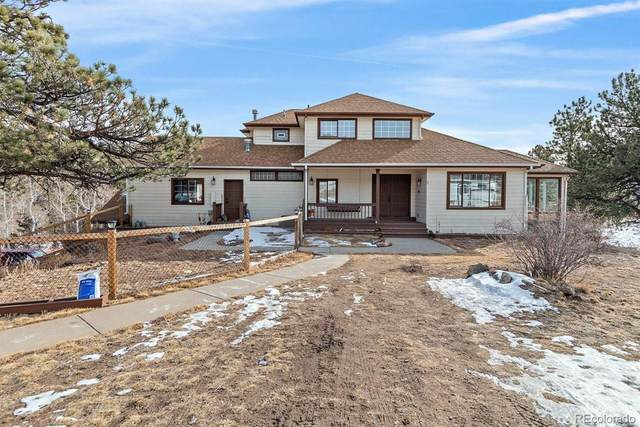 14262 Jubilee Trail, Pine, CO 80470 (#4837187) :: The Dixon Group