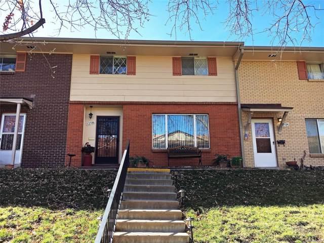 12586 W Virginia Avenue, Lakewood, CO 80228 (#4837376) :: The HomeSmiths Team - Keller Williams