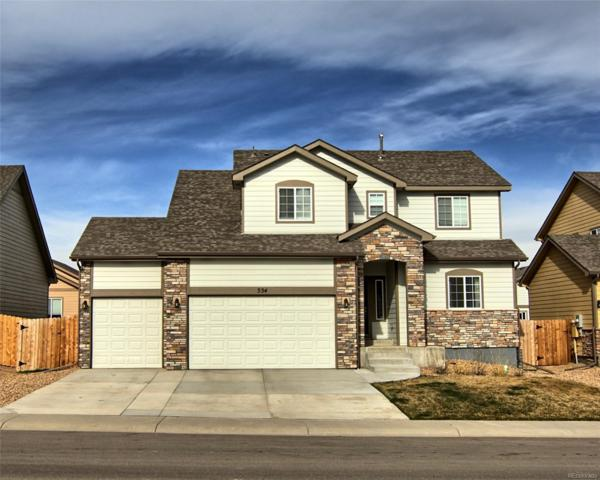 334 Braveheart Lane, Johnstown, CO 80534 (MLS #4838115) :: Kittle Real Estate