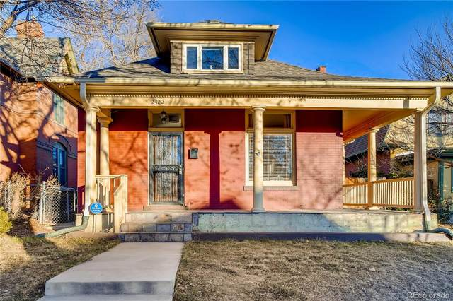 2422 N Williams Street, Denver, CO 80205 (#4838862) :: Stephanie Fryncko | Keller Williams Integrity