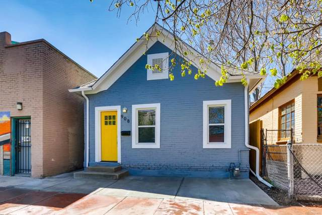 908 W 9th Avenue, Denver, CO 80204 (#4839381) :: The DeGrood Team