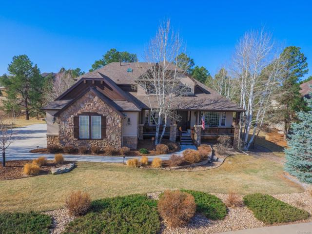 8470 Windhaven Drive, Parker, CO 80134 (#4841107) :: The Peak Properties Group