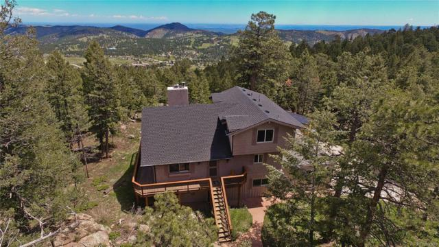 5052 Snowberry Lane, Evergreen, CO 80439 (#4841453) :: Bring Home Denver with Keller Williams Downtown Realty LLC