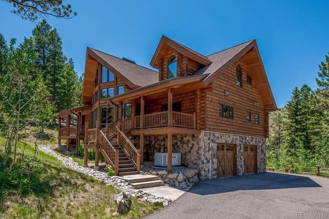 14753 Kit Carson Peak Trail, Pine, CO 80470 (#4842057) :: The DeGrood Team
