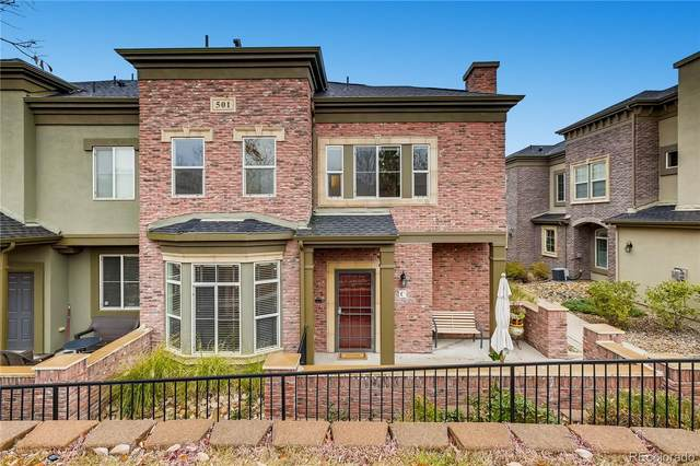 501 Elmhurst Way C, Highlands Ranch, CO 80129 (#4845222) :: Chateaux Realty Group