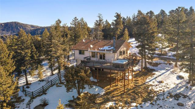 26792 Hilltop Road, Evergreen, CO 80439 (MLS #4847695) :: 8z Real Estate